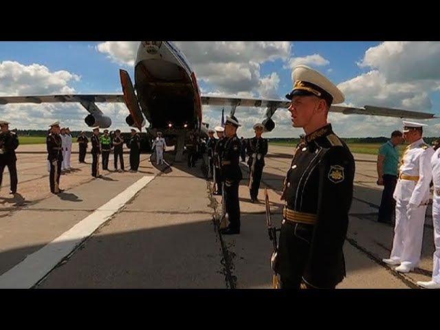 Мощи адмирала Федора Ушакова доставили в Санкт-Петербург