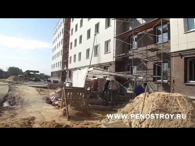 Приготовление пенобетона на СПБУ-500-ЛЮКС