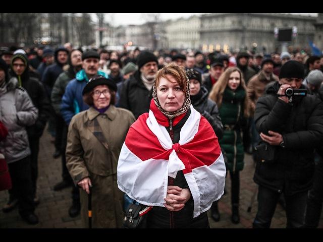 Марш рассерженных белорусов Налог Декрет на тунеядцево Минск митинг протест