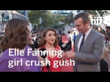 Maisie Williams on Elle Fanning | TIFF 2017