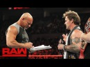 Goldberg accepts Brock Lesnar's WrestleMania challenge: Raw, Feb. 6, 2017
