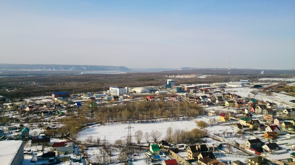 Самара с высоты Фото: Сергей Шамилов