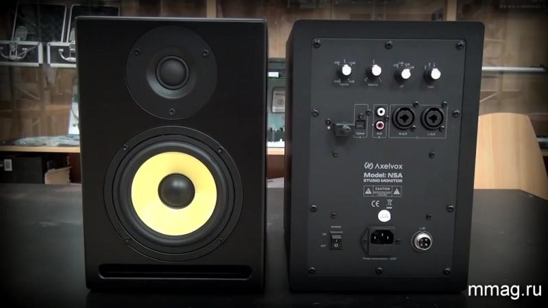Обзор Axelvox N5A бюджетные и качественные студийные мониторы