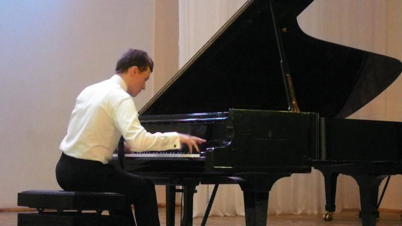 8- Андрей Якушев - Полифонический диптих для фортепиано. Исполняет Евгений Гальцов.