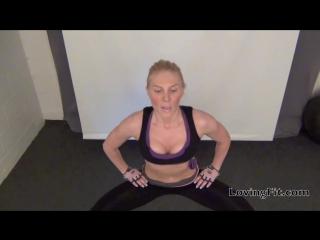 Упражнения для внутренних мышц ног - Inner Thigh Exercises