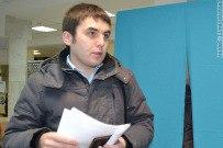 04 декабря 2011 - Николай Лёксин голосует на выборах в Гос. думу в Тольятти