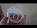 Кольцо для селфи Selfie Ring Light лампа-прищепка на батарейках
