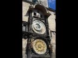 Чехия.Прага. Часы Орлой.