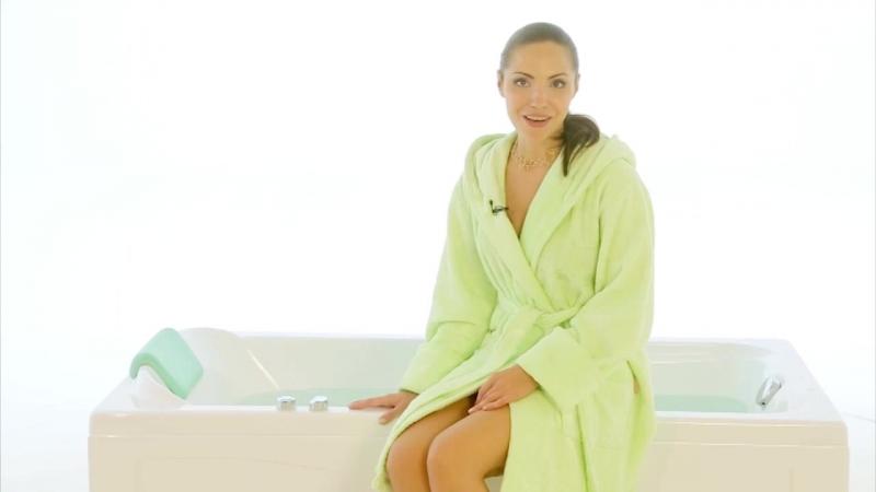 Прямоугольная акриловая ванна Джулия
