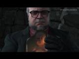 Мадс Миккельсен и Гильермо Дель Торо в трейлеры игры Death Stranding.