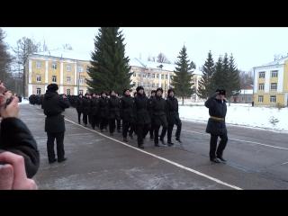 Присяга 1 рота 3 батальон
