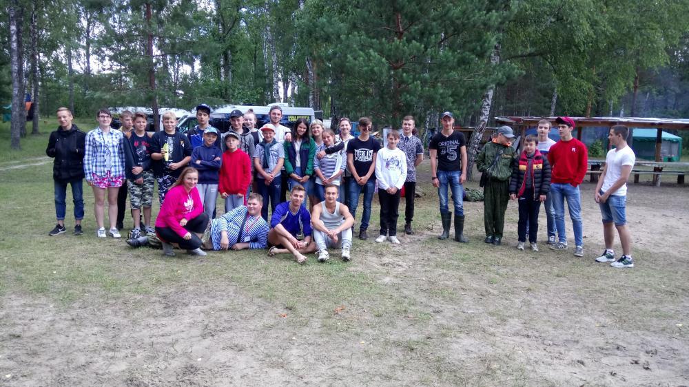 В Людиновском районе  широкое распространение получили оздоровительные  лагеря малозатратных форм с круглосуточным пребыванием детей