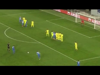 Amazing Free Kick Goal from Malinovski