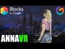 Google Blocks Tilt Brush Blocks Skyline VR painting