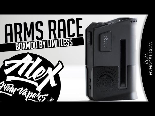 Arms Race Limitless Box Mod l from everzon.com l Alex VapersMD review 🚭🔞