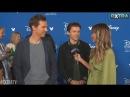 Tom Holland and Benedict Cumberbatch Talk Avengers: Infinity War
