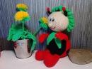 Божья коровка, ч.3. Ladybug, р.3. Мастер класс вязания крючком.