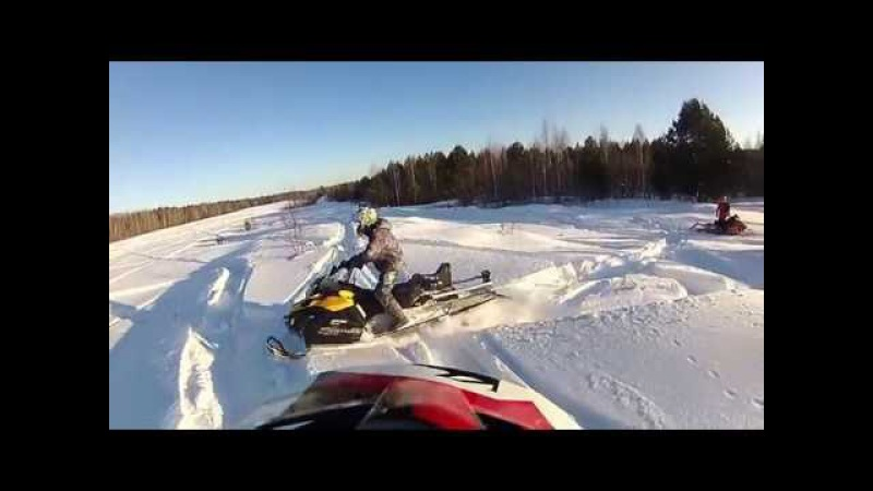 Yamaha RX-1 MTX 162, 2 Arctic Cat M 8000 and BRP Ski-Doo Tundra LT-550. Часть вторая.