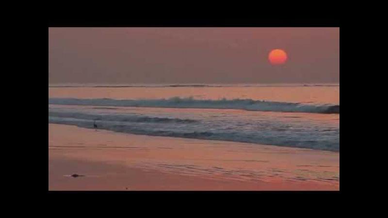 Природа,красота океана,рассвет,музыка,релакс