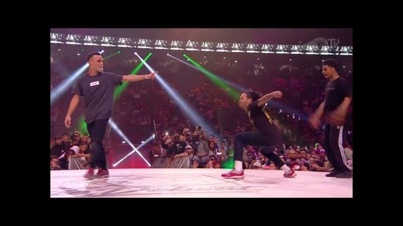 Juste Debout Hip Hop Final 2017: Majid Ukay VS Stylez C Diablo