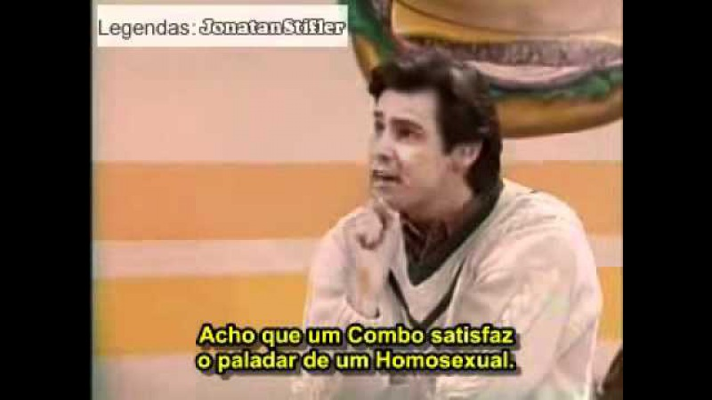 Jim Carrey - Gay vai à Lanchonete (Legendado)