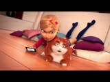 Очень смешной мультфильм! Селфи кота!!!(Very funny cartoon ! Selfies cat !!!)