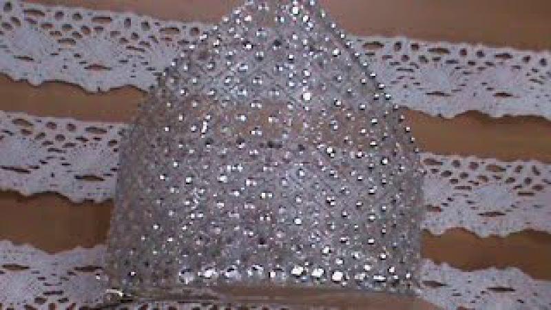 Новогодняя хрустальная корона с бриллиантами для наших принцесс