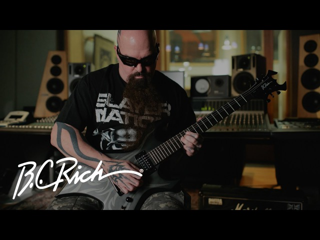 Kerry King Introduces New 2017 Signature Guitar - KKW30 | B.C. Rich