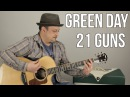 Green Day - 21 Guns - How to Play on guitar - guitar lesson