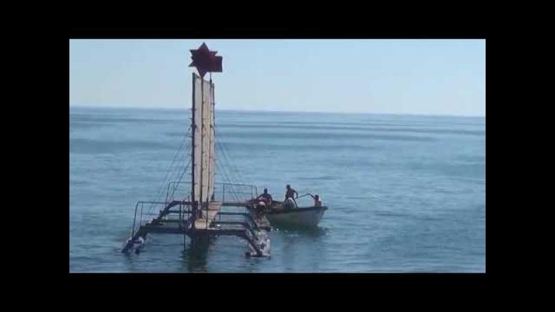 """Azərbaycan HDQ-nin """"G-124"""" gəmisi dəniz hədəfinə atışları uğurla yerinə yetirib - 06.08.2017"""