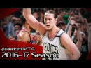 Kelly Olynyk Full Highlights 2017 ECSF Game 7 vs Wizards - 26 Pts, 4 Assists, 14 Pts in 4th!
