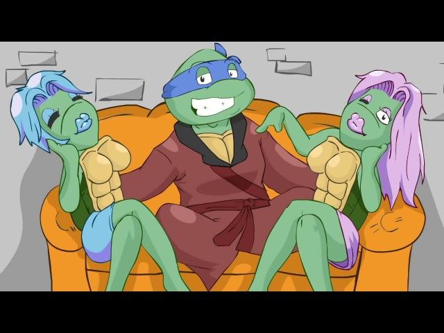 Гетто Черепашки-ниндзя 18 (перевод: TEENAGE MUTANT GHETTO TURTLEZ! by DashieXP)