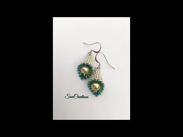 How to make Cute beaded Bell Earrings