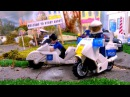 Машина мультик лего видео для детей про машинки полицейская гоночная машина му ...