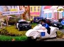 Машина мультик лего видео для детей про машинки полицейская гоночная машина мул...