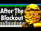 LEGO NINJAGO - After The Blackout by The Fold Synthesia piano tutorial