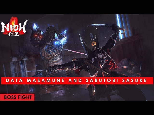 Nioh Defiant Honor DLC Data Masamune and Sarutobi Sasuke Boss Fight no damage