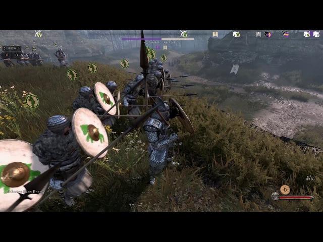 Mount Blade II: Bannerlord Gamescom 2017 - Battania vs Empire
