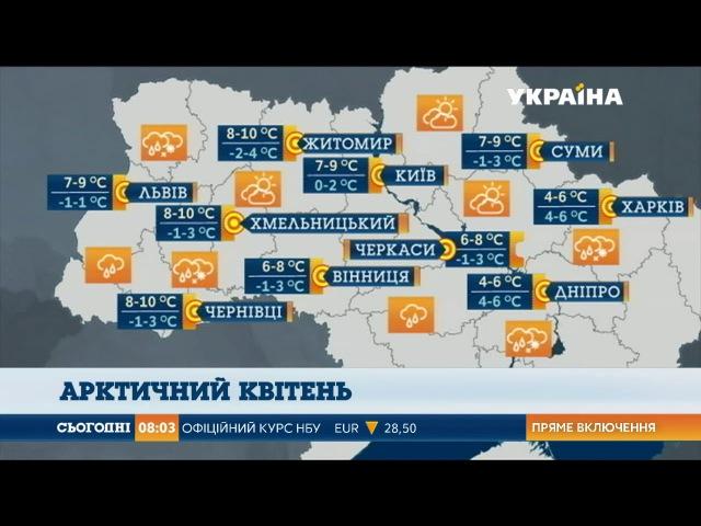 Штормове попередження оголосили по всій Україні
