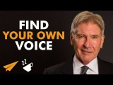 Find your own VOICE - Harrison Ford - #Entspresso