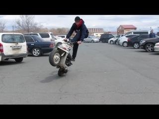 Открытие скутер сезона на Шаморе ( 16 часть)