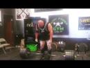 Ник Бэст, тяга 370 кг