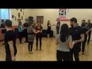 Танец Bachata, первое занятие 01.06