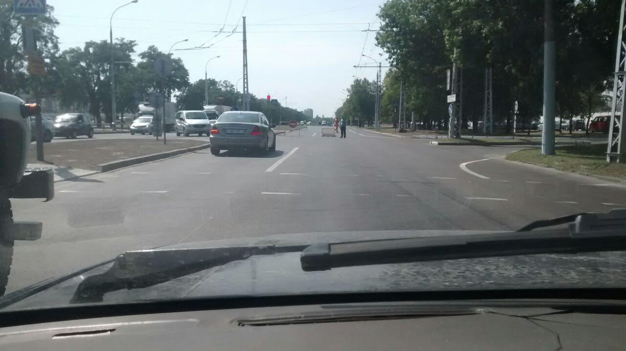 На ул. Янки Купалы идут дорожные работы - общественный транспорт меняет маршруты!