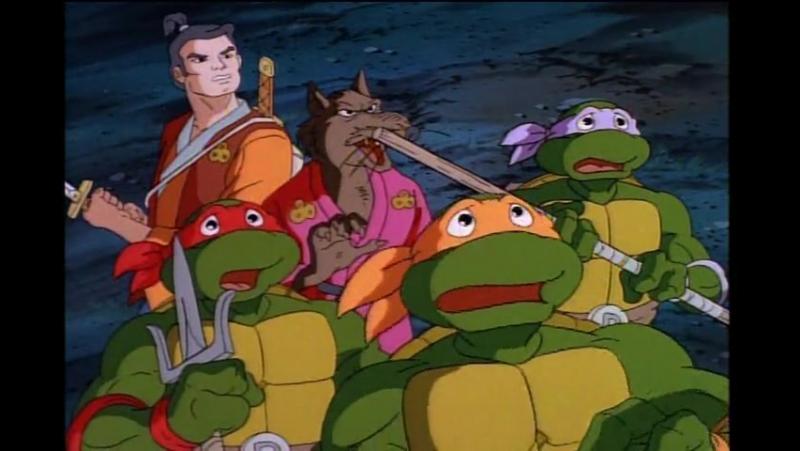 Черепашки Мутанты Ниндзя 7 Сезон 3 Серия «Легенда о Коджи» (1987)