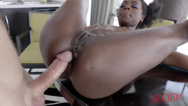 Ana Foxx ( ANA FOXX ANAL DESTROYED DISCO DICK QUEEN) 2017, Anal, Athletic, Black, Creampie, Gaping, Pornstar,
