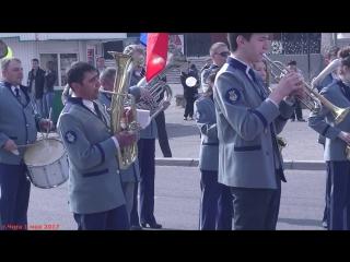 Шизгара на первомайской демонстрации в Чите