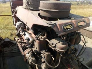 Заводим двигатель СМД 64 комбайна Колос СК-6А