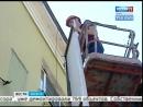 Реклама вне закона. В Иркутске демонтируют самовольно установленные баннеры и вывески