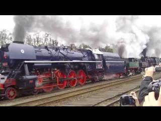 ... Заслужили уважение и почёт..))) Вольштынский парад ....Locomotive Parade Wolsztyn , Poland